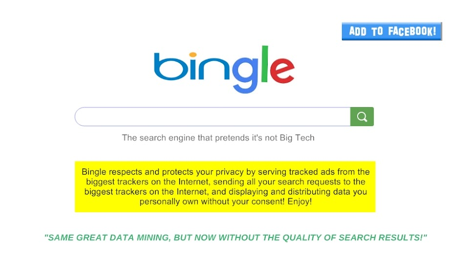 Bingle search