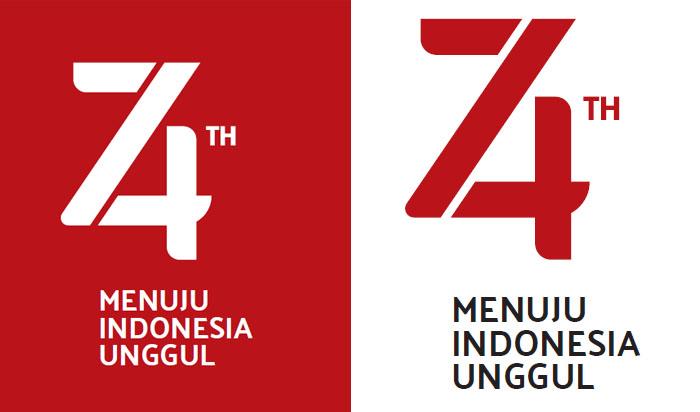 Logo Resmi HUT RI Ke 74 2019 Format PNG