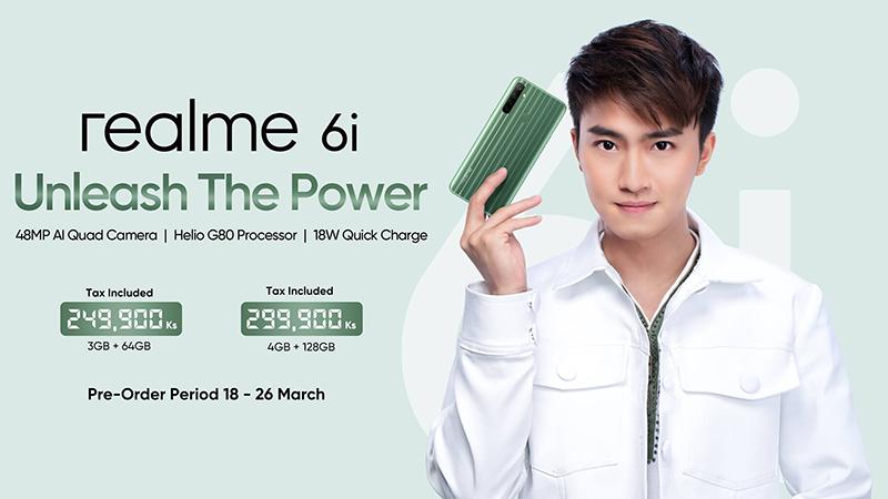Realme 6i with Helio G80 and 48MP quad-cam now official