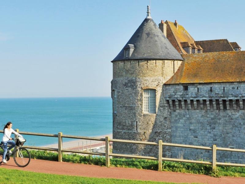 Замок-музей Дьеппа в Этрете, Франция