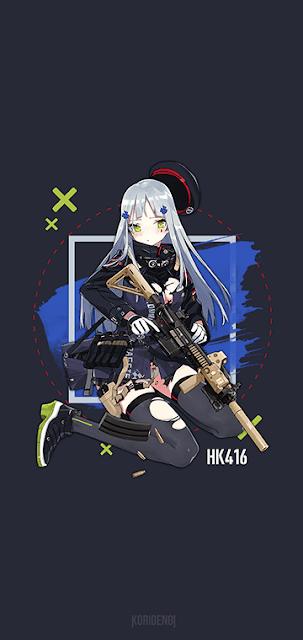 HK416 - Girls Frontline Wallpaper