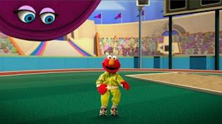 Elmo the Musical Athlete the Musical. Elmo and velvet. Sesame Street Episode 4420, Three Cheers for Us, Season 44