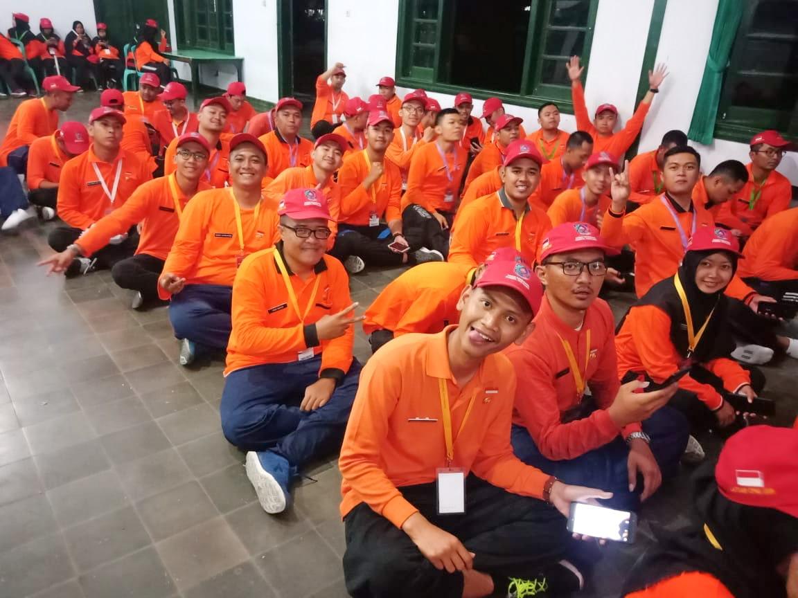 Sebelum acara jurit malam di Dodiklatpur Rindam IV Diponegoro, Klaten