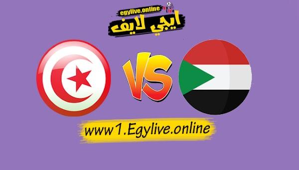 نتيجة مباراة تونس والسودان اليوم بتاريخ 09-10-2020 في مباراة ودية