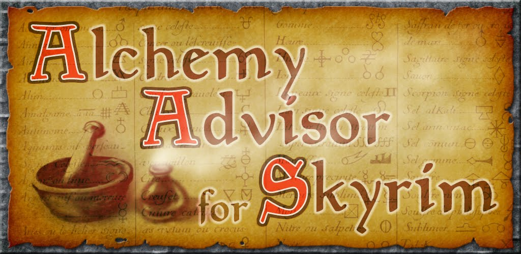 BytesInARow: Alchemy Advisor for Skyrim