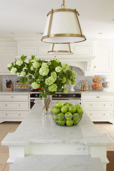 Coastal style the right white top paint picks for Better homes and gardens kitchen and bath ideas february 2012