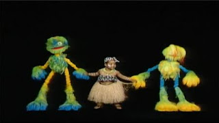 Baby Tooth and the Fuzzy Funk Caribbean dance, African - Sakis. sesame street zoe's dance moves
