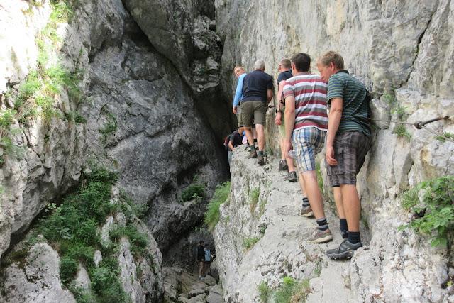The path to the Soca Rover source - Triglav National Park, Slovenia