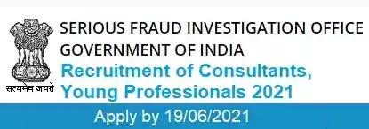 Contract Jobs in SFIO Delhi 2021