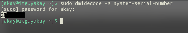 dmidecode commands to fetch system hardware information , linux commands