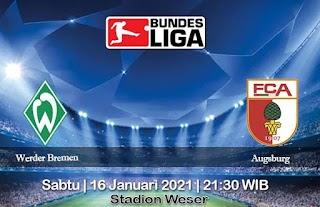 Prediksi Werder Bremen Vs Augsburg 16 Januari 2021