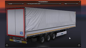 Standalone Krone SDP27 trailer