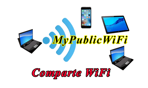 Compartir wifi de laptop