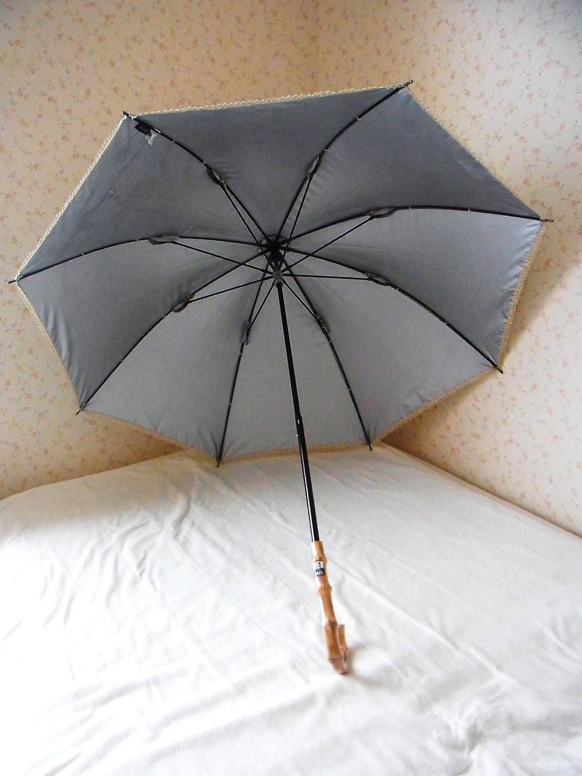 東海道(HN)の小さな日常: 買い物1・日傘とレインシューズとショール