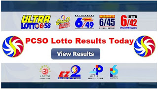 PCSO Lotto Results 1 November 2020