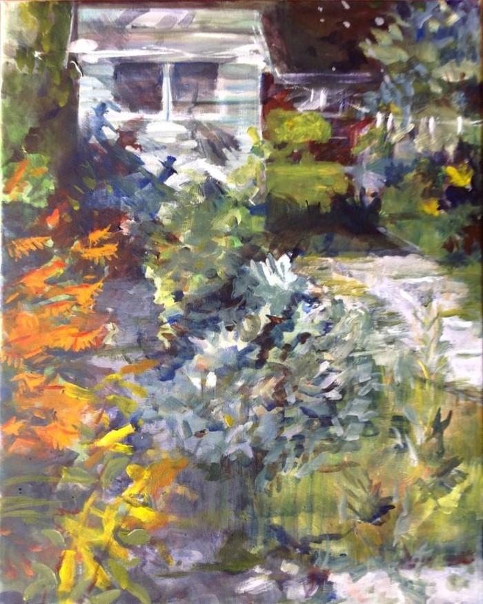 Баланс между абстракцией и реализмом. Sandra Haney