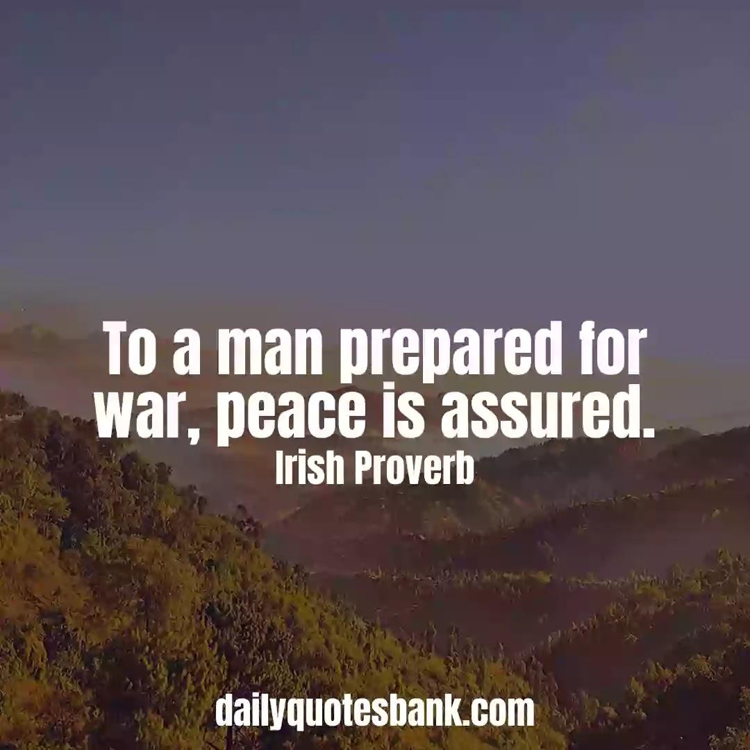 Inspiring Irish Proverbs About Peace Of Mind For Life Lessons