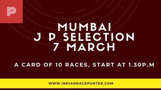 Mumbai Jackpot Selections 7 March