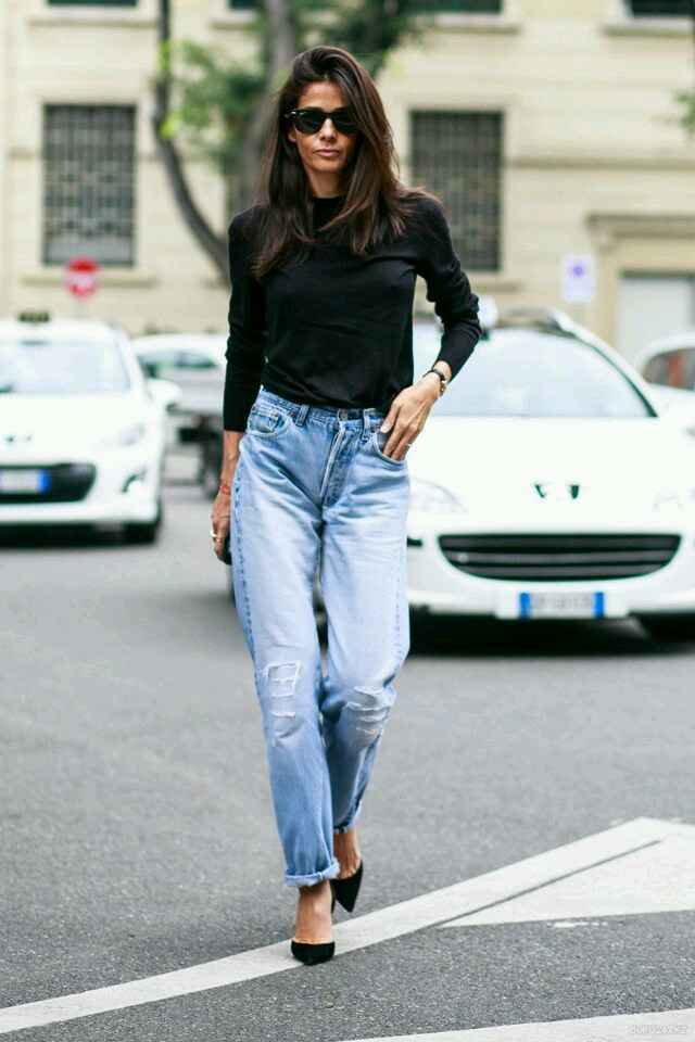 mom jeans, lata 90, inspiration, inspiracje, jak nosić mom jeans, w co sie ubrać, osobista stylistkadenim, jeans, hi waist, jeans, how to wear mom jeans fashion inspiration