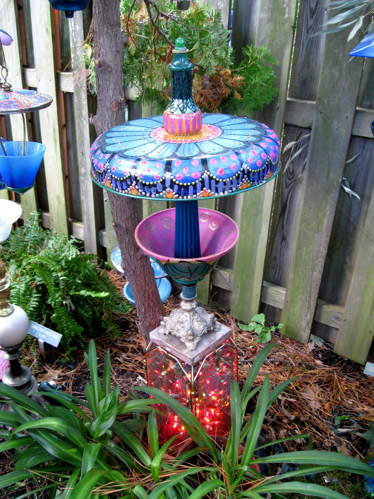 Donna's Art at Mourning Dove Cottage: Whimsical garden ... on Whimsical Backyard Ideas id=65862