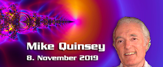 Mike Quinsey – 8. November 2019