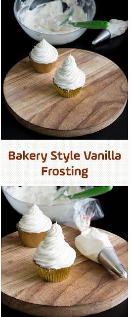 Bakery Style Vanilla Frosting