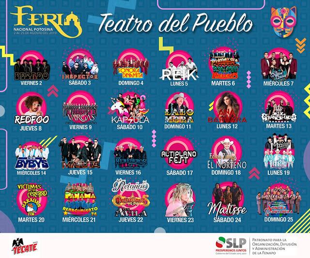 teatro del pueblo fenapo 2019