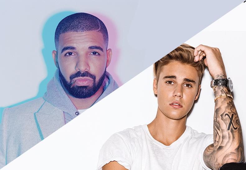 """Drake potencializa o hit """"One Dance"""" com Justin Bieber o acompanhando num remix incrível!"""