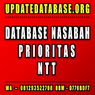 Jual Database Nasabah Prioritas Nusa Tenggara Timur