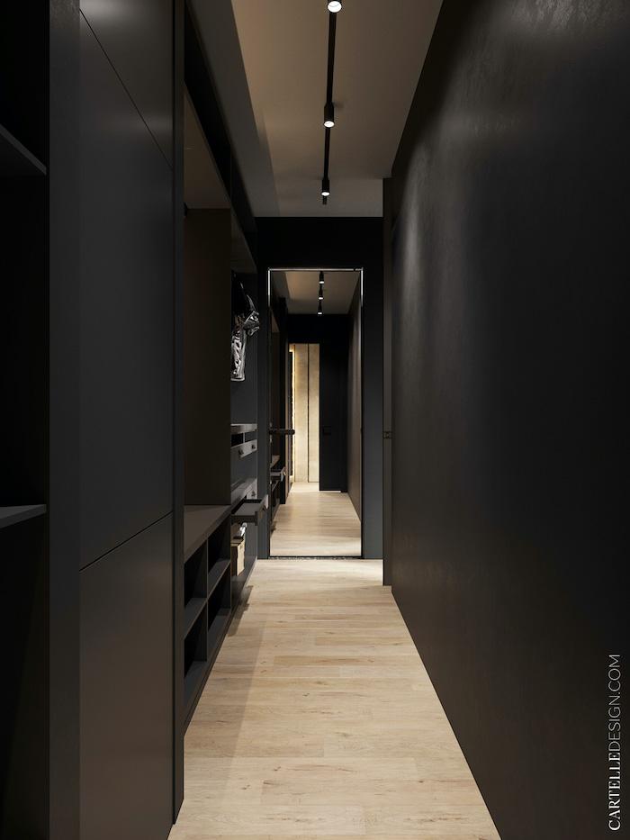 Armarios empotrados en apartamento pequeño