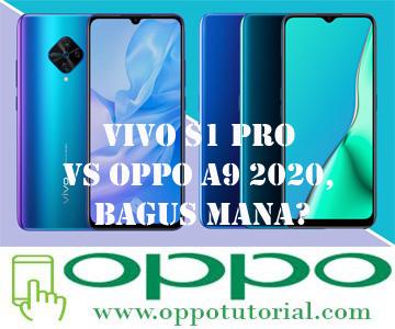 VIVO S1 Pro VS OPPO A9 2020