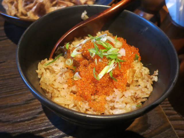 Unagi Garlic Fried Rice with Fish Roe