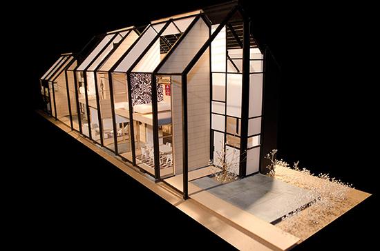desain kreatif maket bangunan