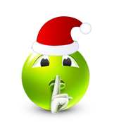 Christmas Smiley Icon 7