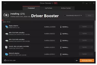 برنامج Driver Booster | متخصص البحث عن التعريفات اخر اصدار+التفعيل مدى الحياة