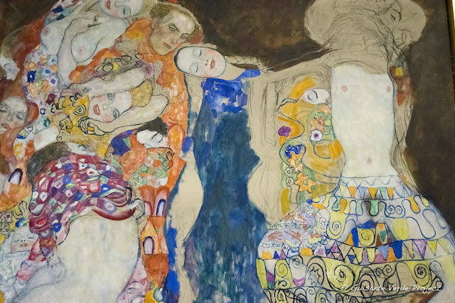 Gustav Klimt: La Novia - Belvedere Museum, Viena por El Guisante Verde Project