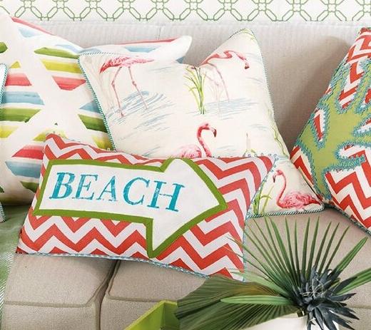 Luxury Coastal Pillows