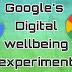 गुगलचे डिजिटल वेल्बीन एक्सपेरिमेंट ऍप रिव्ह्यू