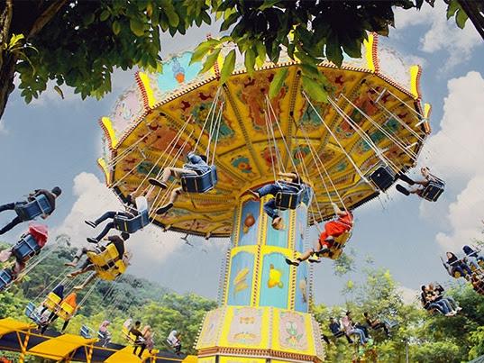 Wahana Jungleland, Wisata Seru yang Menguji Adrenalin