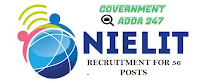 NIELIT Recruitment for 56 Posts of Scientist-'C and D'