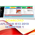 Download Aplikasi Raport K13 SD Kelas 1 - 6 Semester 1 2019