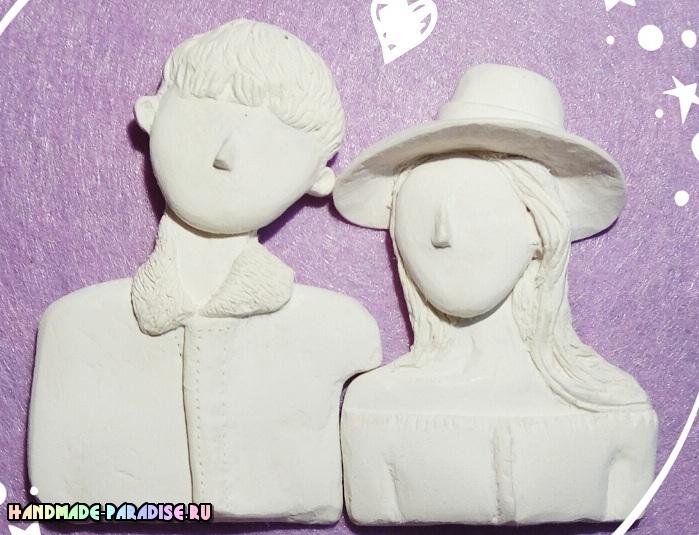 Лепка кукол для создания семейного портрета (5)