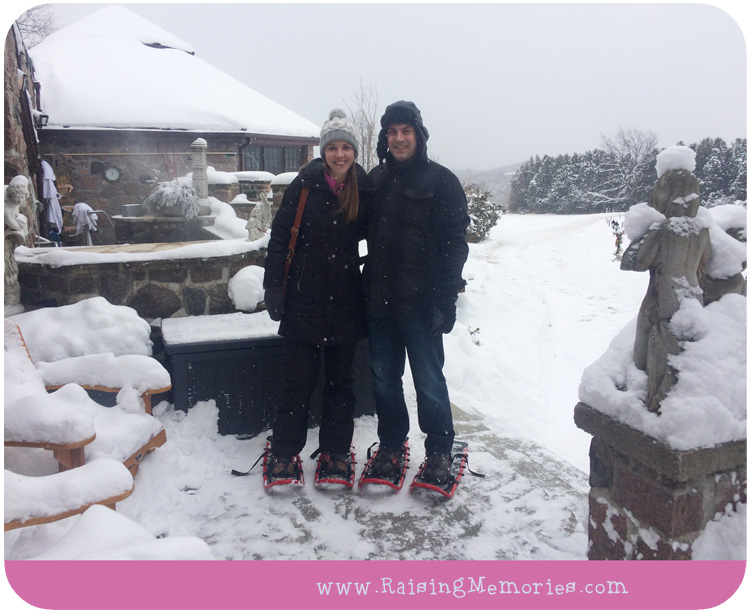 Snowshoeing at Sainte Annes Spa