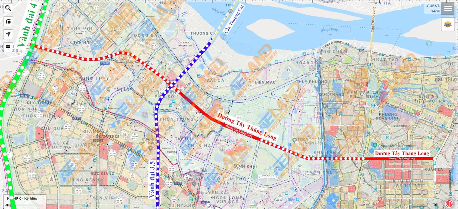 Hà nội phê duyệt quy hoạch chi tiết khu chức năng đô thị Tây Tựu