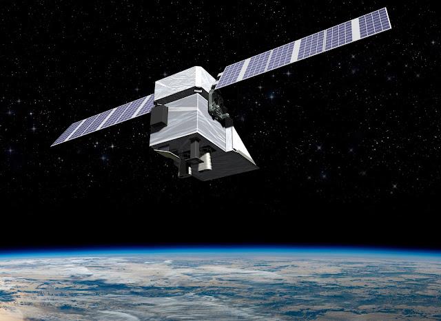 Image Attribute: An artist rendering of the MethaneSAT satellite