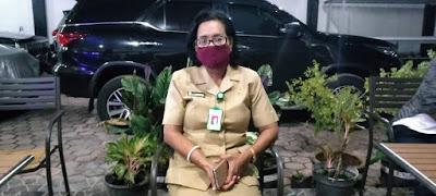 Juru bicara Pemda Malra untuk Penanganan Cobid 19,. dr. Katrinje Notanubun