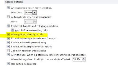 Excel Hücre