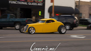 Draggin Douglas Yellow Hot Rod