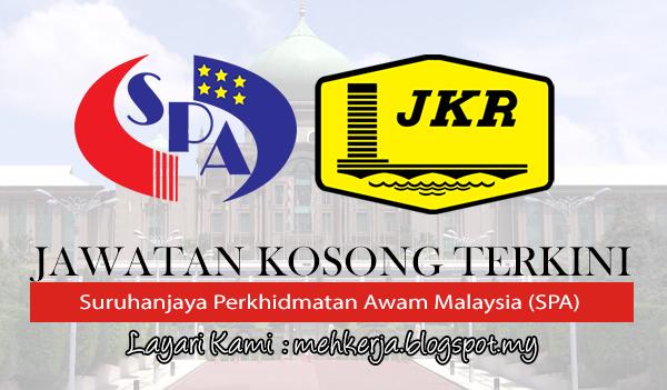 Jawatan Kosong di Suruhanjaya Perkhidmatan Awam Malaysia (SPA)  Kementerian Kerja Raya (KKR)