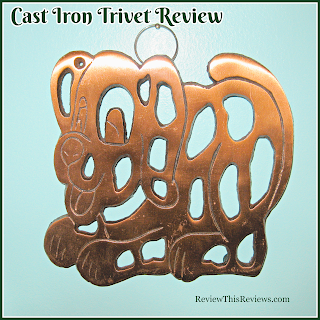 Puppy Cast iron Trivet